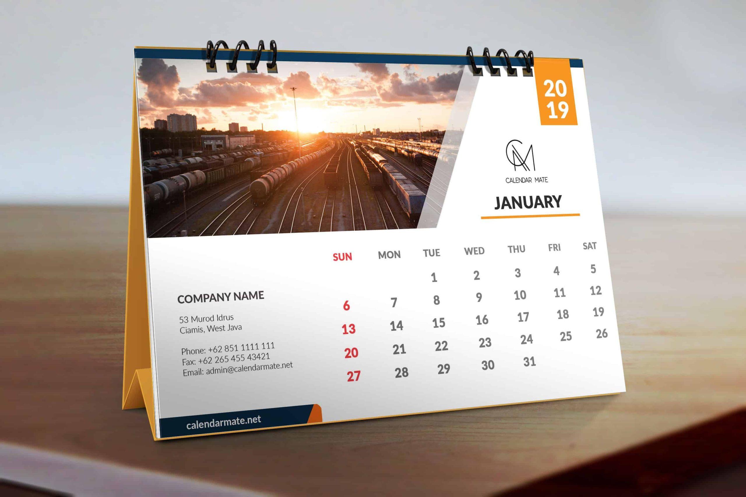 Some fantastic desk calendar from MIS Asia