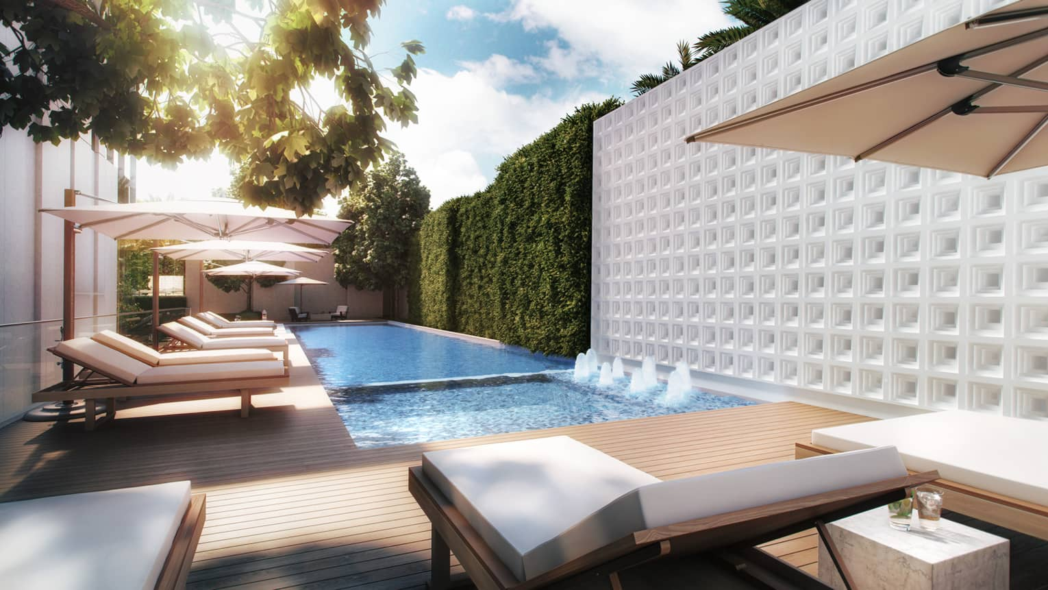 Features of the Expertise private luxury residences