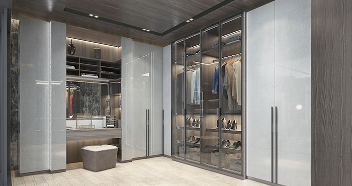 How to improvise and renovate your closet space?